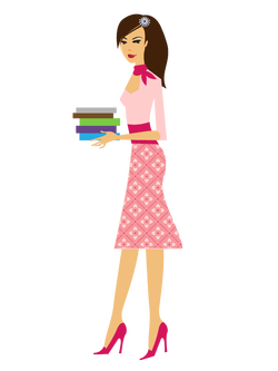 Allegra Holding Books Illustration