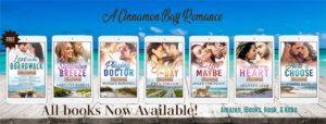 Cinnamon Bay Romance All Books Banner