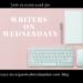 Writers on Wednesday