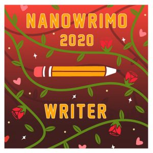 Nanowrimo 2020 badge