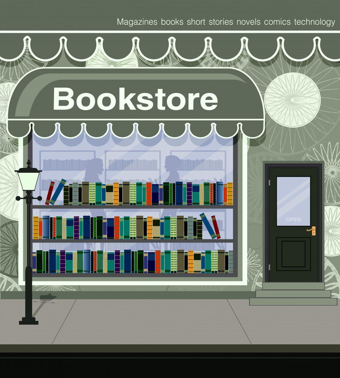 bookstore vector