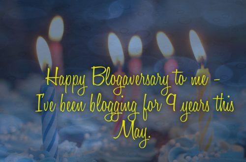 Happy Blogaversary